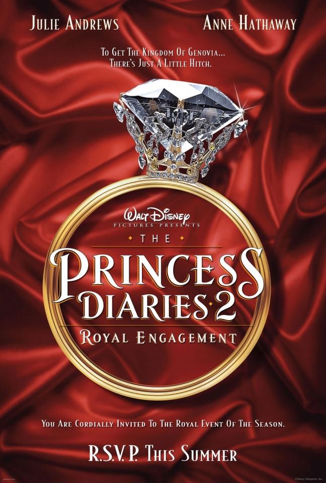 плакат фильма Дневники принцессы 2: Как стать королевой