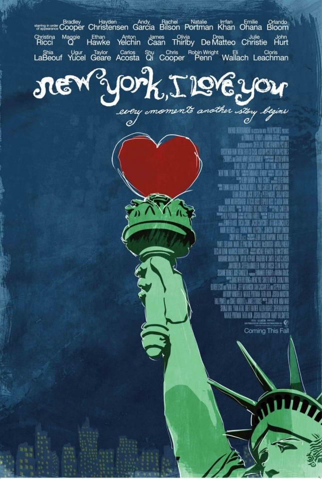 плакат фильма Нью-Йорк, я люблю тебя