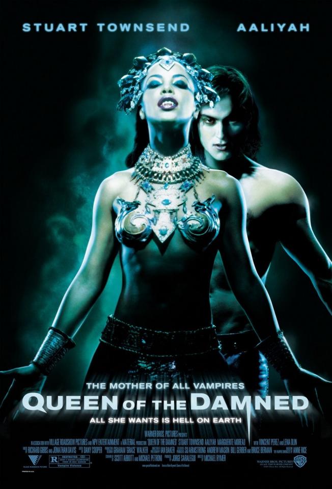 плакат фильма Королева проклятых