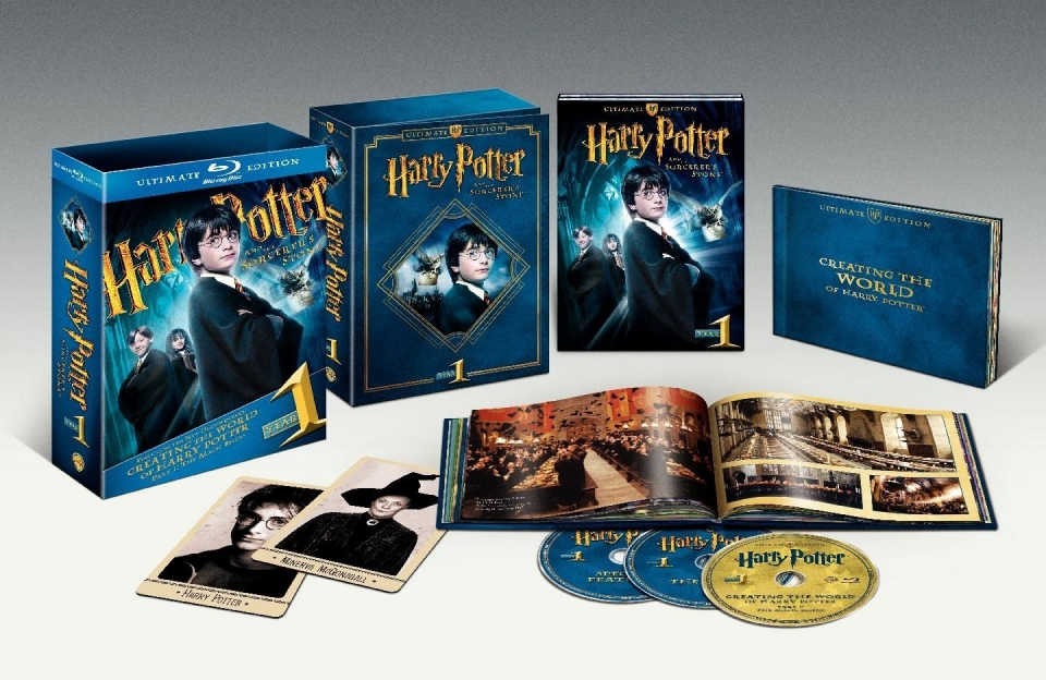 другие Blu-Ray Гарри Поттер и Философский камень