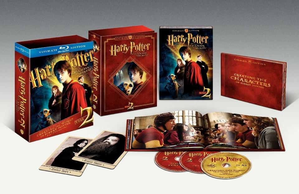 другие Blu-Ray Гарри Поттер и Тайная комната