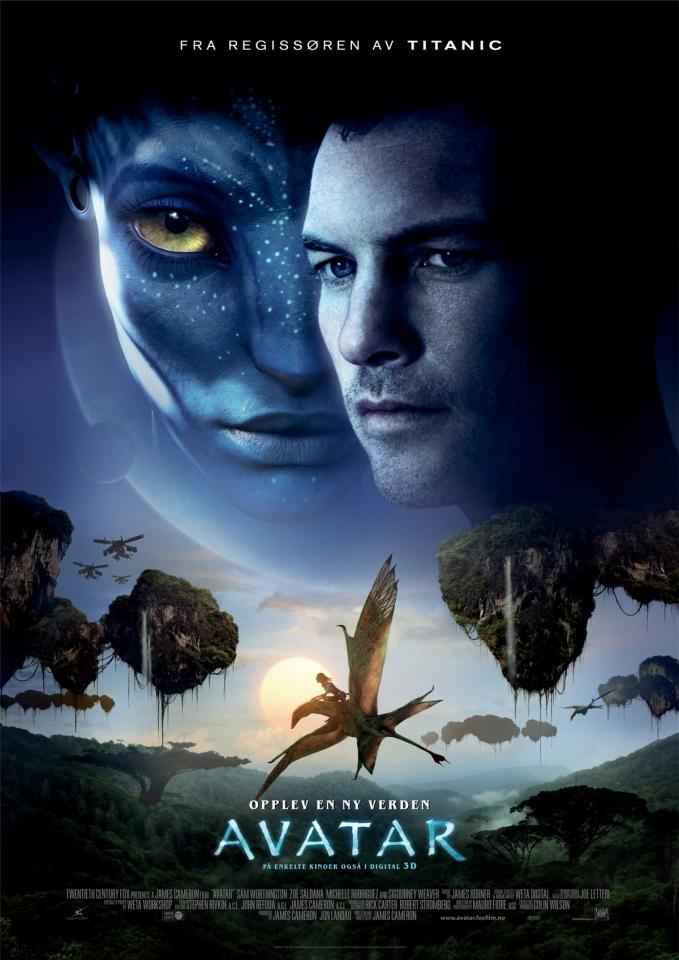 плакат фильма постер Аватар