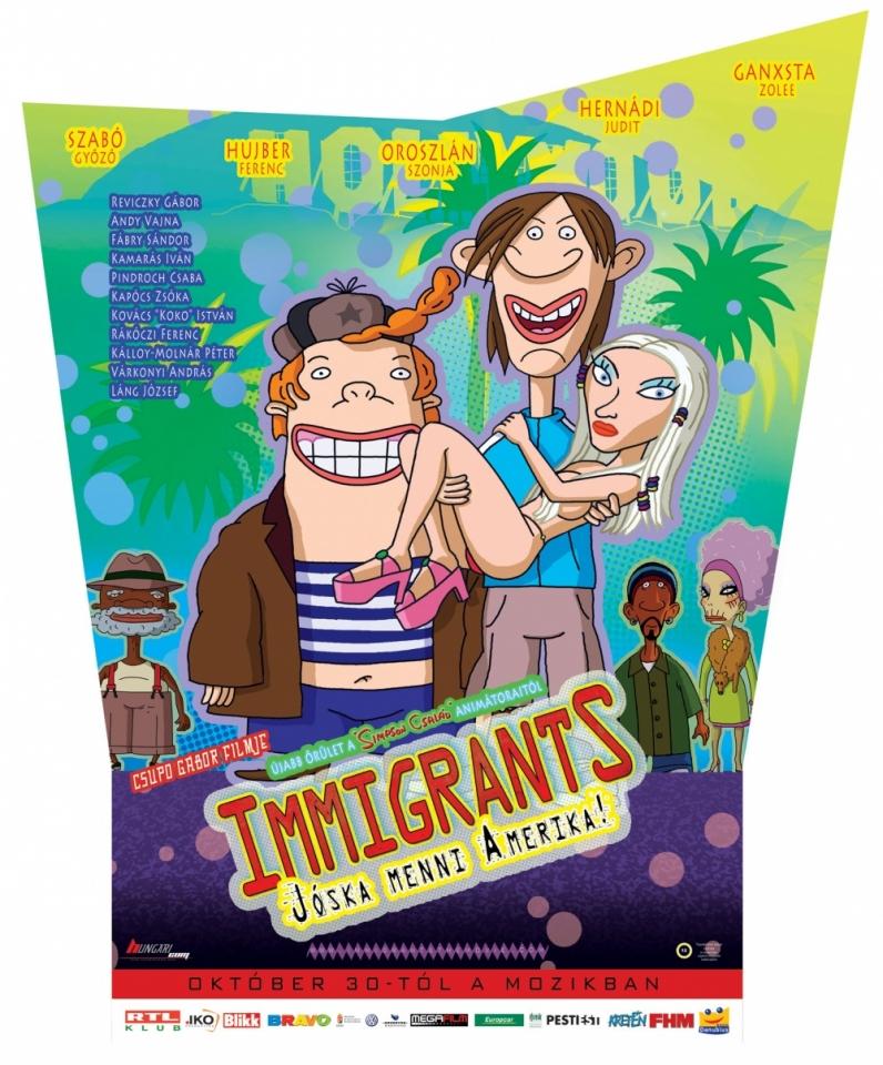 плакат фильма Иммигранты