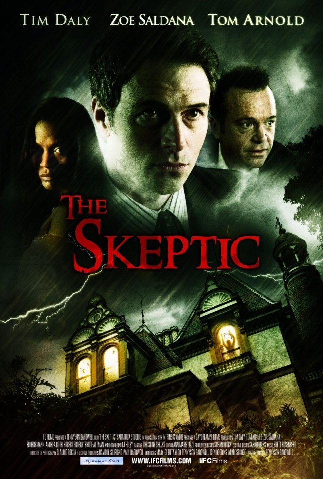 плакат фильма Скептик