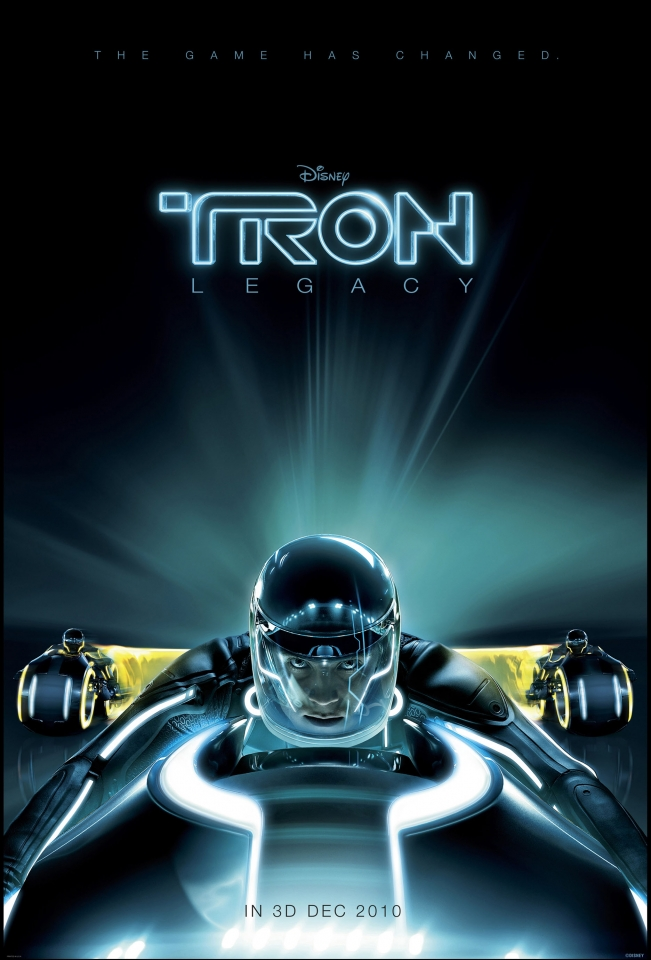 плакат фильма тизер Трон: Наследие