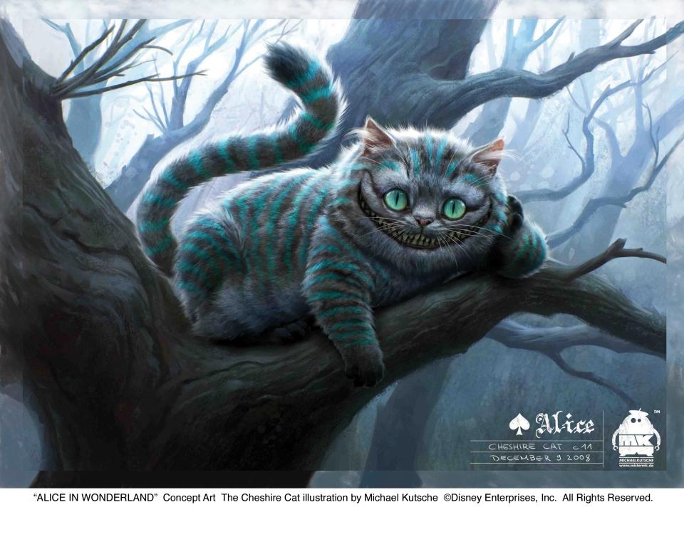 концепт-арты Алиса в Стране чудес