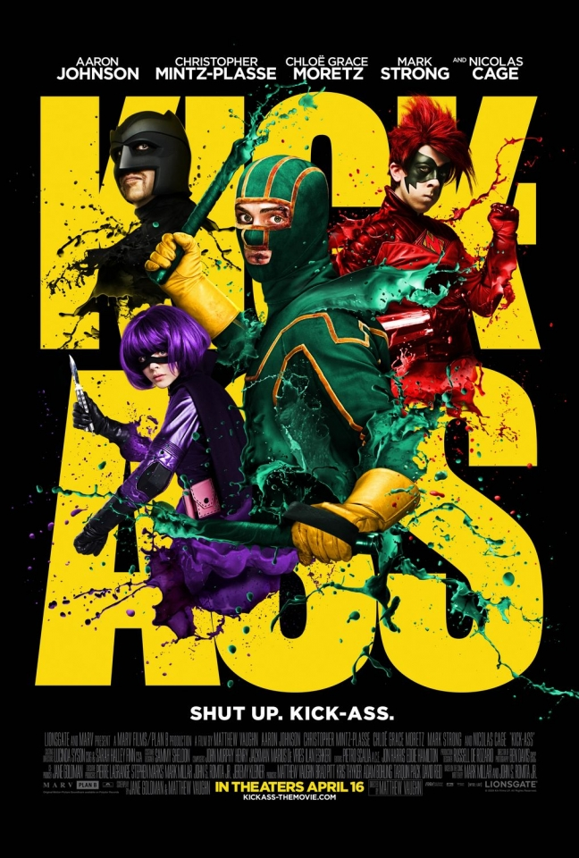 плакат фильма постер Пипец
