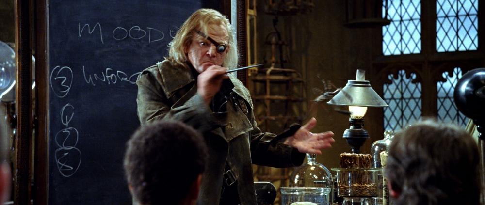 кадры из фильма Гарри Поттер и Кубок Огня Брендан Глисон,
