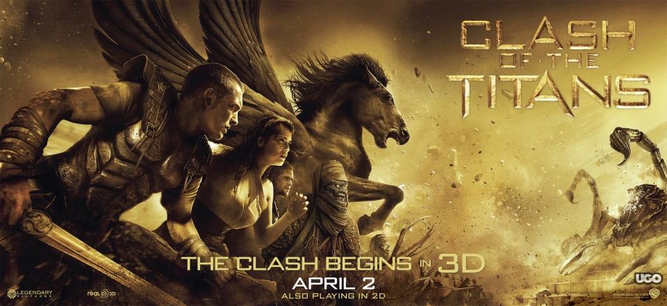 плакат фильма Битва титанов