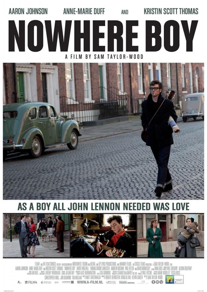 плакат фильма Стать Джоном Ленноном