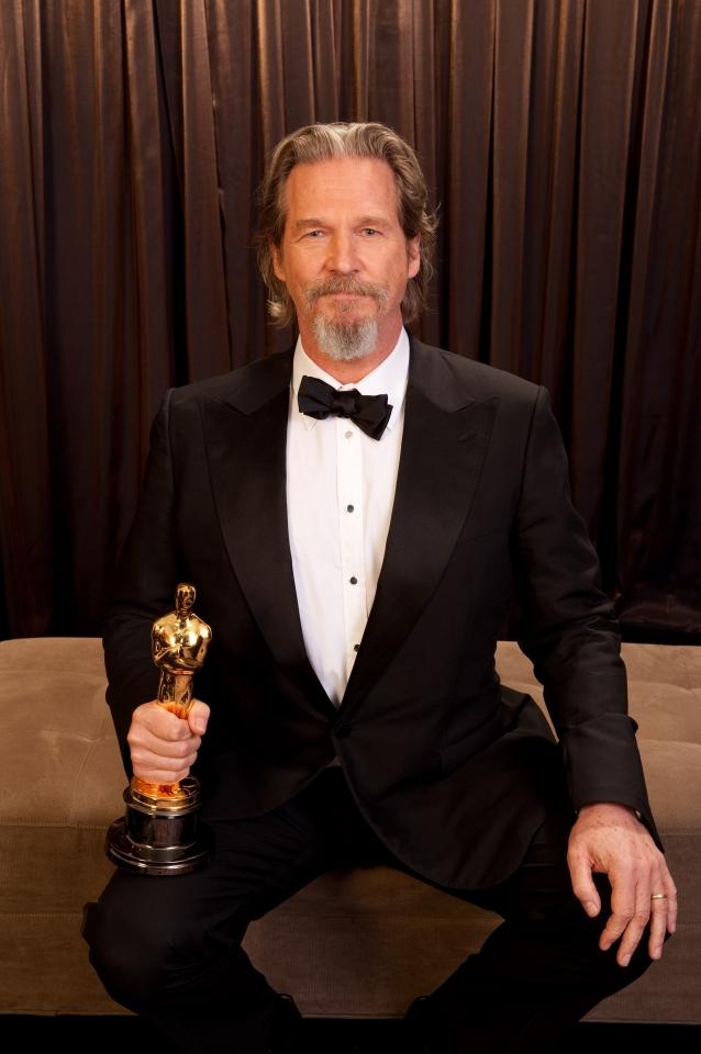 лауреаты Оскар 2010 Джефф Бриджес,