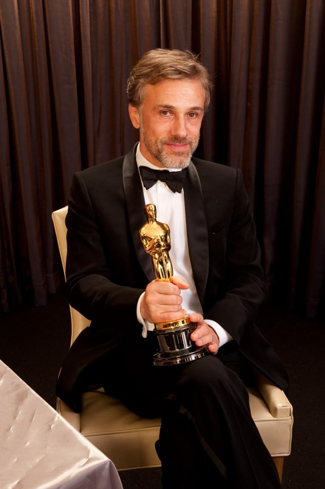лауреаты Оскар 2010 Кристоф Вальц,