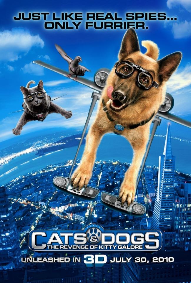 плакат фильма тизер Кошки против собак: Месть Китти Галор