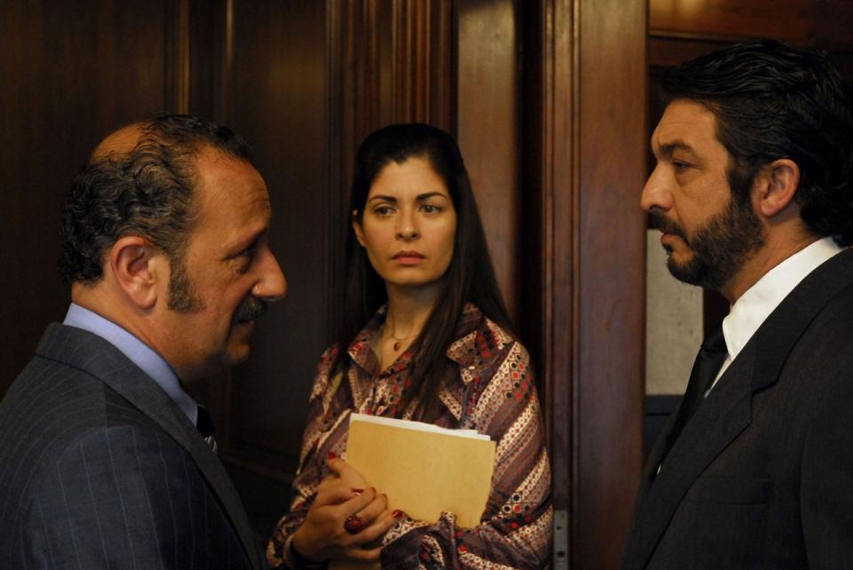 кадры из фильма Тайна в его глазах Соледад Вийямиль, Рикардо Дарин,