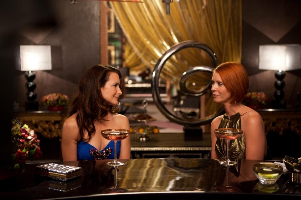 кадры из фильма Секс в большом городе 2 Кристин Дэвис, Синтия Никсон,