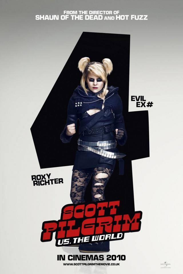 плакат фильма характер-постер Скотт Пилигрим против всех