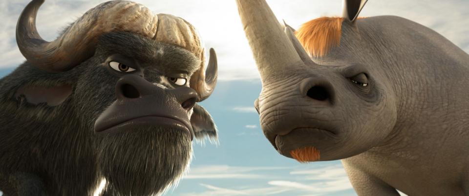 кадры из фильма Союз зверей в 3D