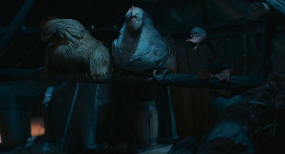 кадры из фильма Гадкий утенок