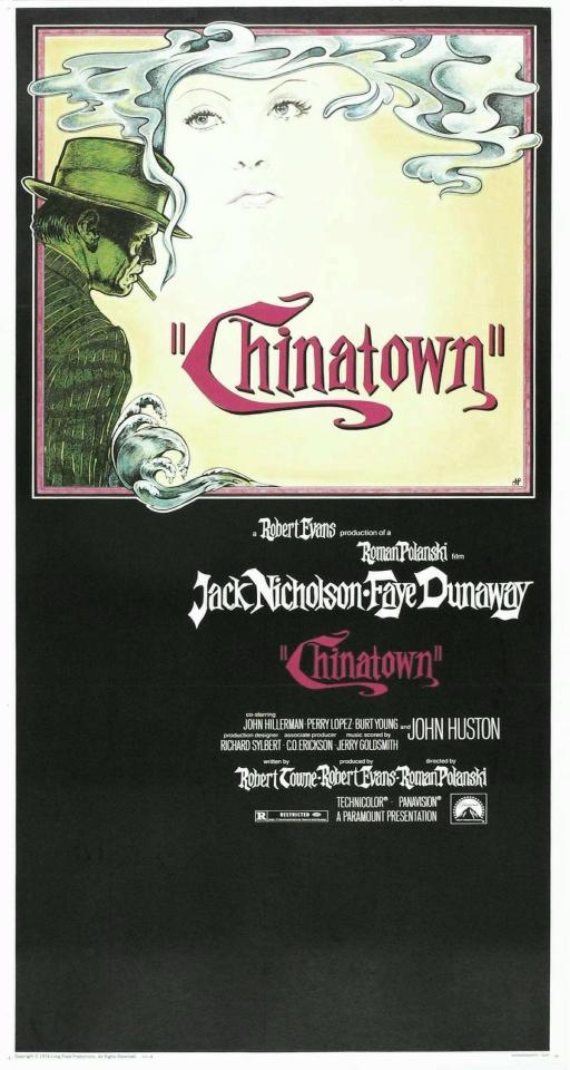 плакат фильма постер Китайский квартал
