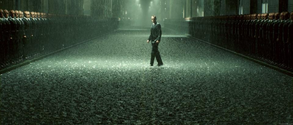 кадры из фильма Матрица: Революция Хьюго Уивинг,