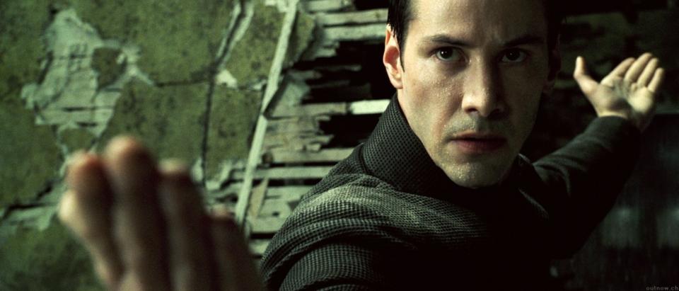 кадры из фильма Матрица: Революция Киану Ривз,