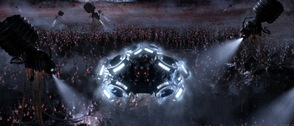 кадры из фильма Матрица: Революция