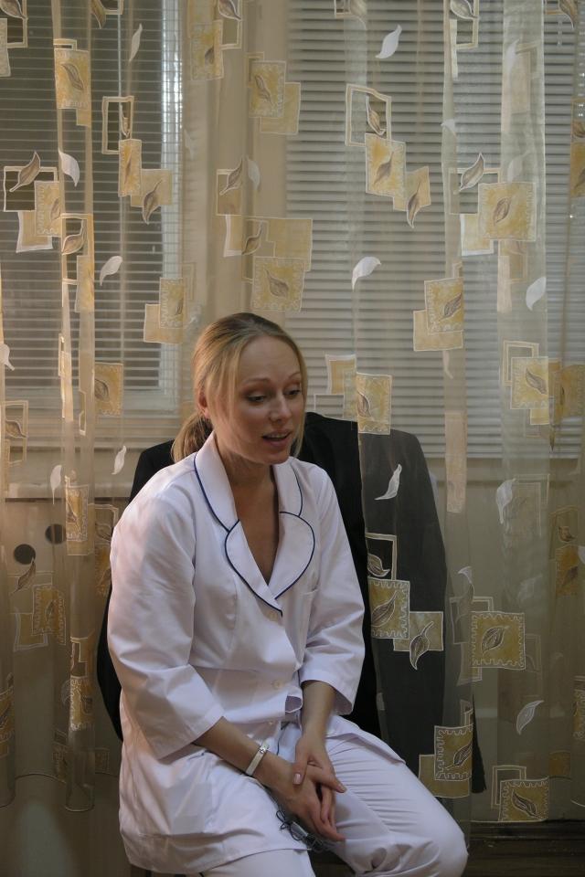 кадры из фильма Ночные сестры Ольга Ломоносова,