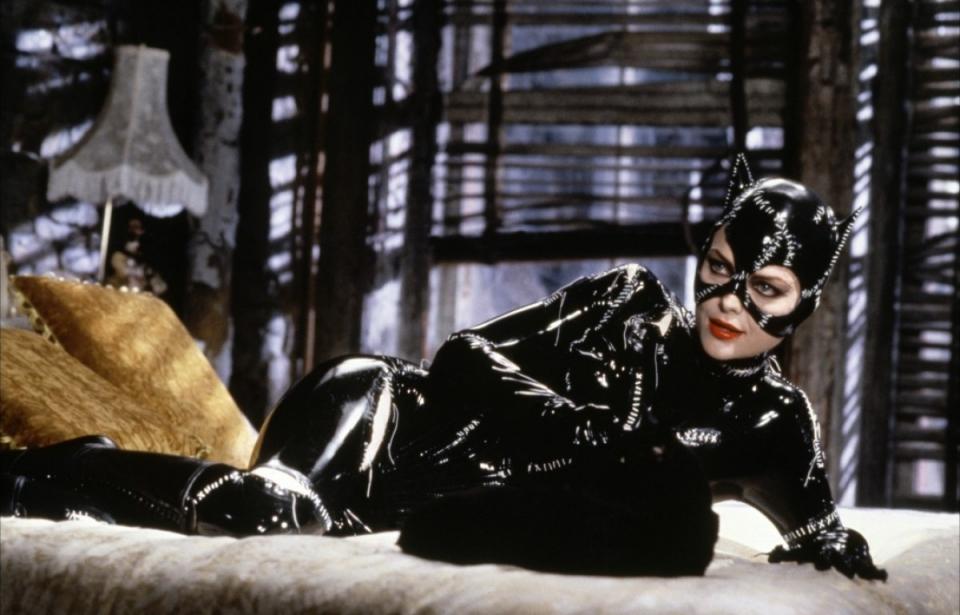 кадры из фильма Бэтмен возвращается Мишель Пфайффер,
