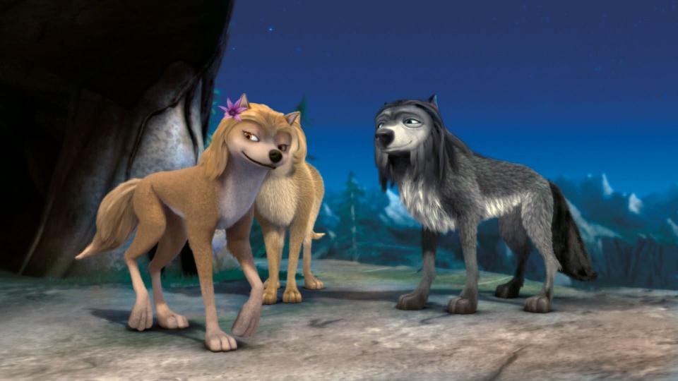 кадры из фильма Альфа и Омега: Клыкастая братва 3D