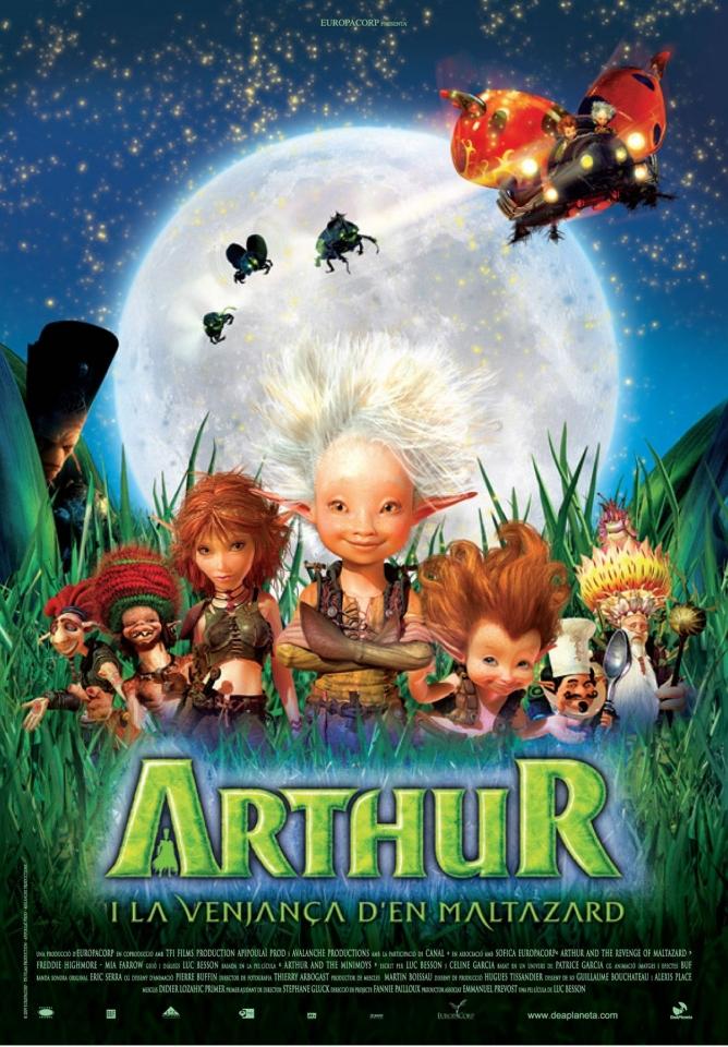 плакат фильма постер Артур и месть Урдалака