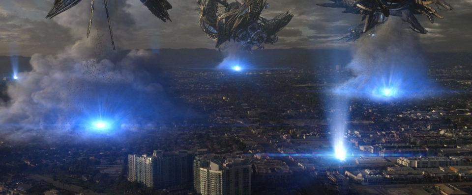 кадры из фильма Скайлайн