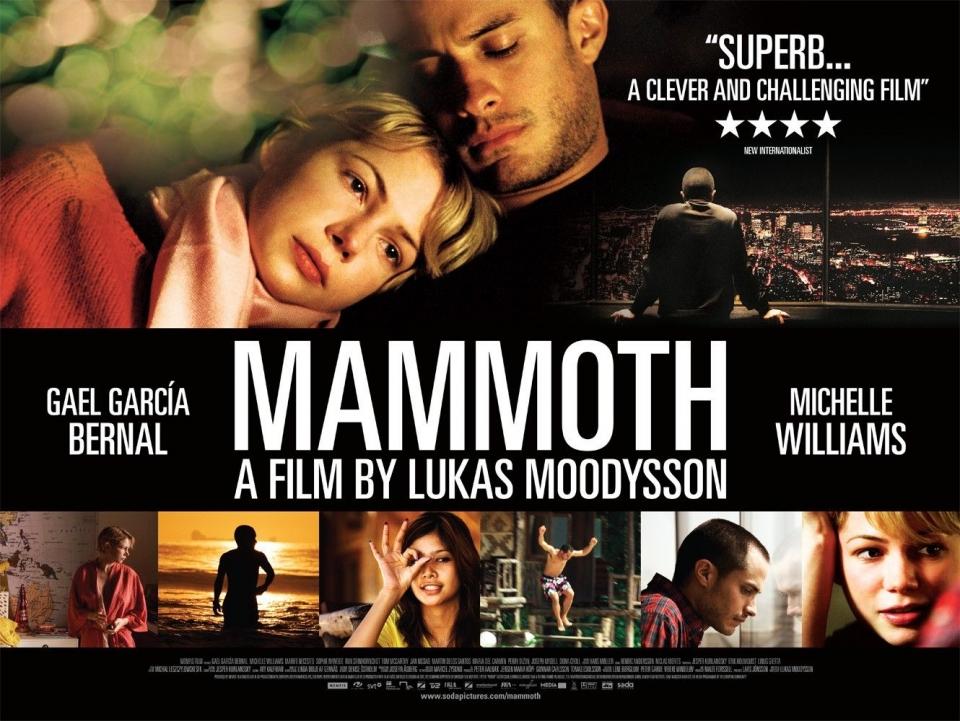 плакат фильма биллборды Мамонт