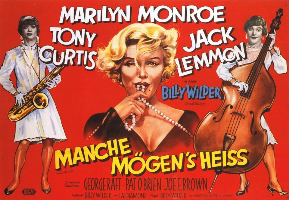 плакат фильма биллборды В джазе только девушки