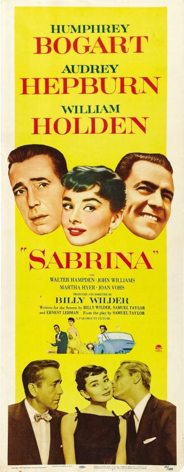 плакат фильма баннер Сабрина