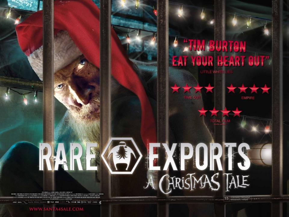 плакат фильма биллборды Санта на продажу