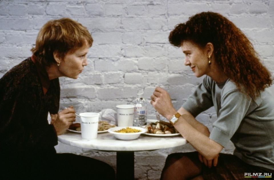 кадры из фильма Мужья и жены Джуди Дэвис, Миа Фэрроу,
