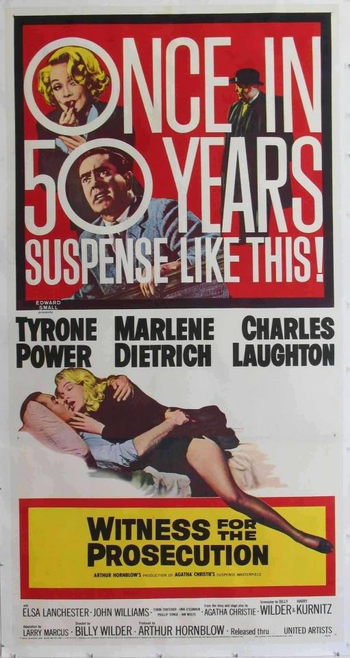 плакат фильма баннер Свидетель обвинения