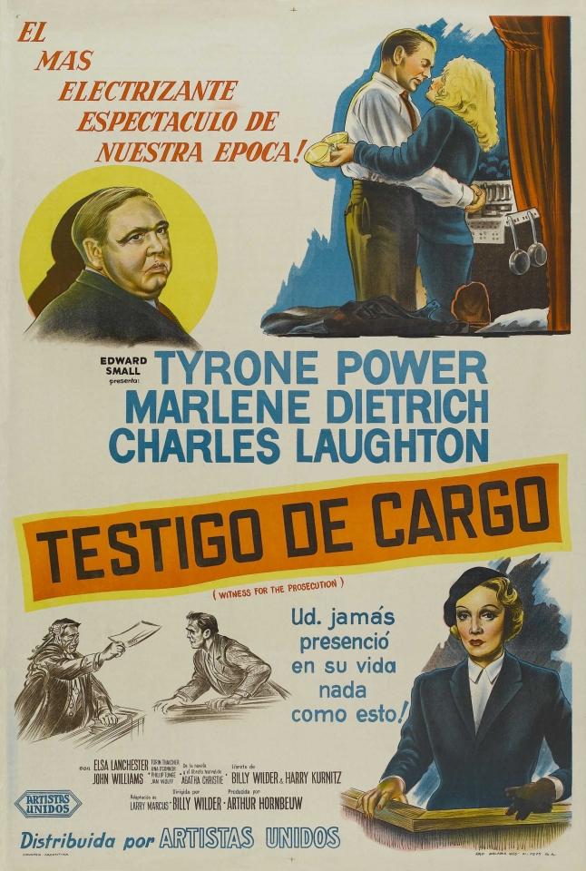 плакат фильма постер Свидетель обвинения