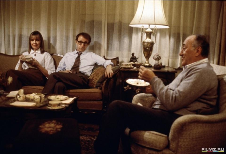 кадры из фильма Загадочное убийство на Манхэттене Дайан Китон, Вуди Аллен,