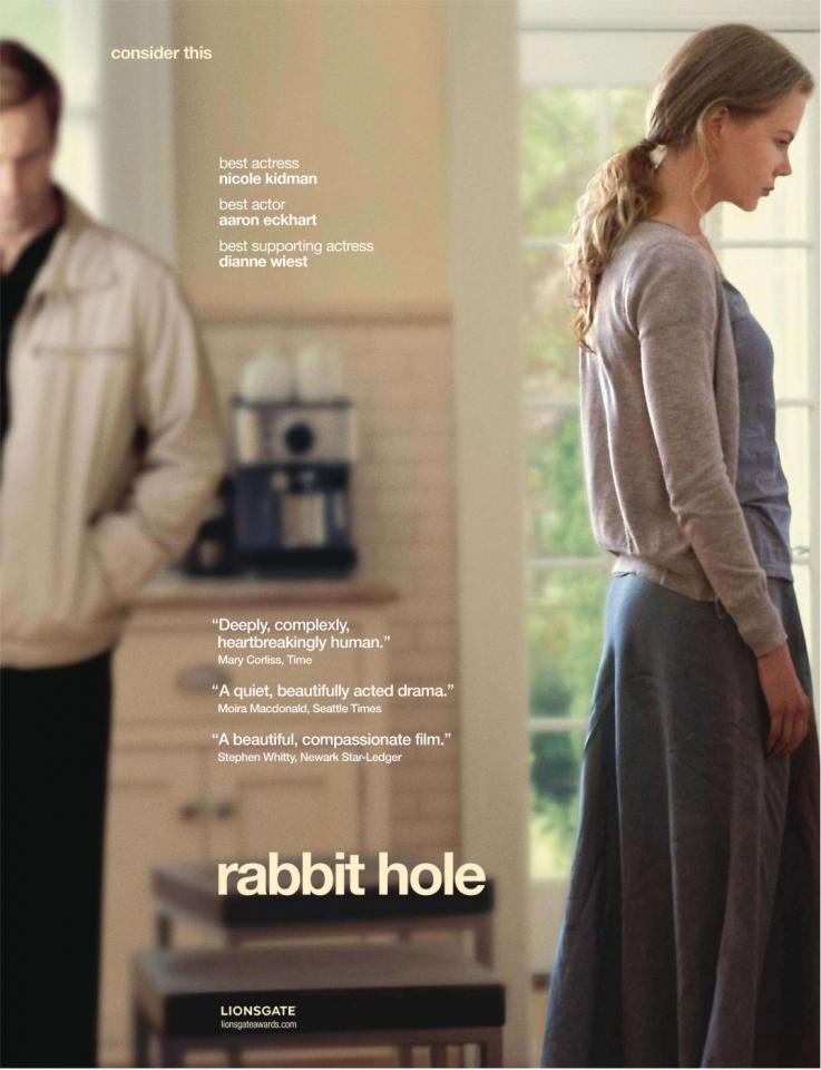 плакат фильма «Оскаровская» кампания Кроличья нора