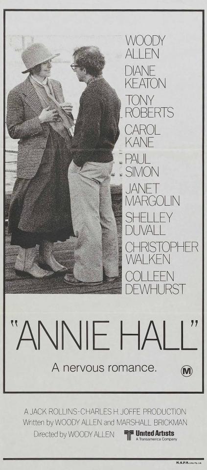 плакат фильма баннер Энни Холл