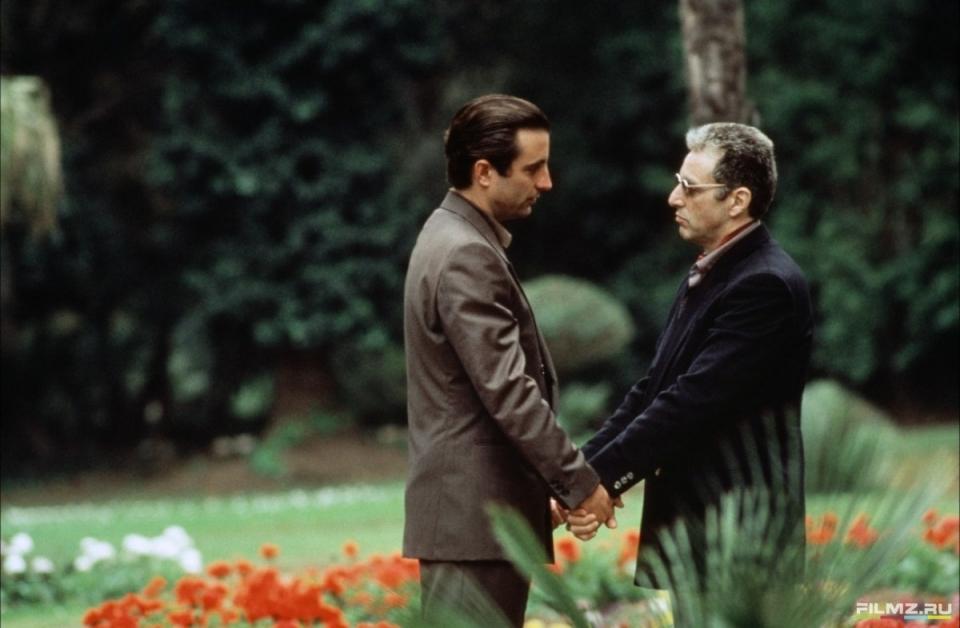 кадры из фильма Крестный отец, часть III Энди Гарсия, Аль Пачино,