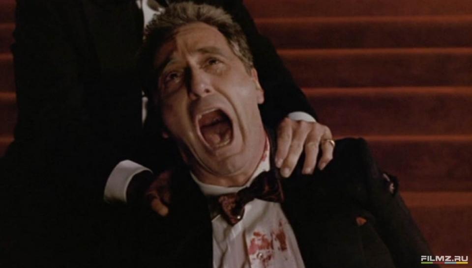 кадры из фильма Крестный отец, часть III Аль Пачино,
