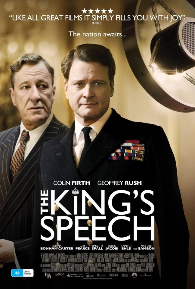 плакат фильма постер Король говорит!