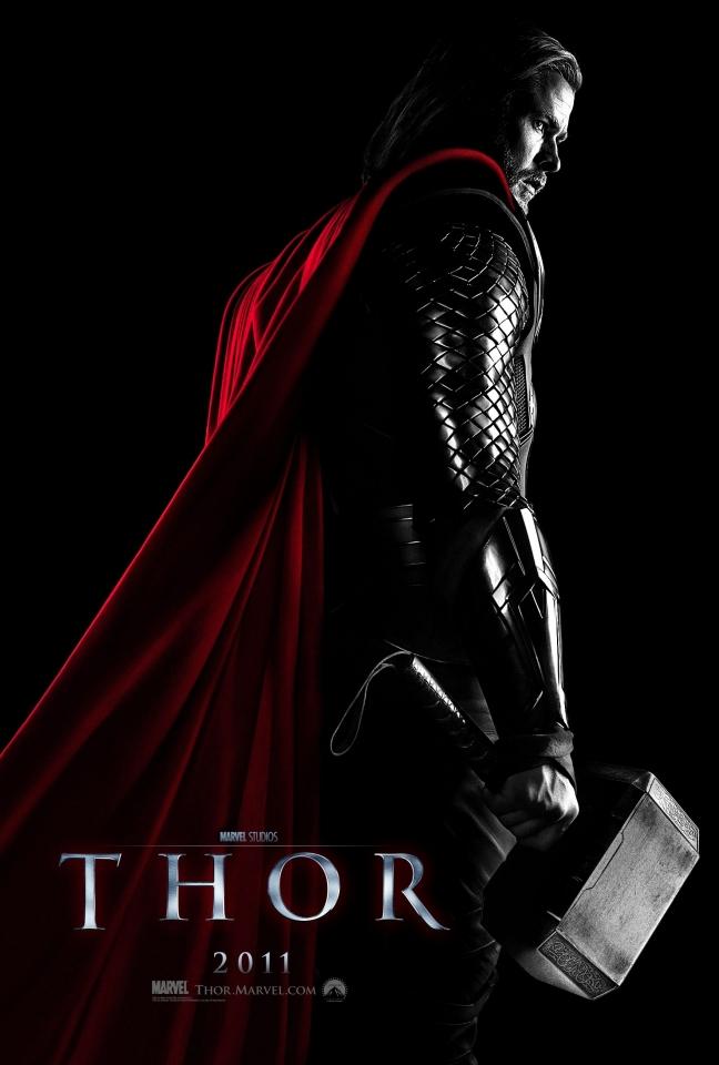 плакат фильма тизер Тор