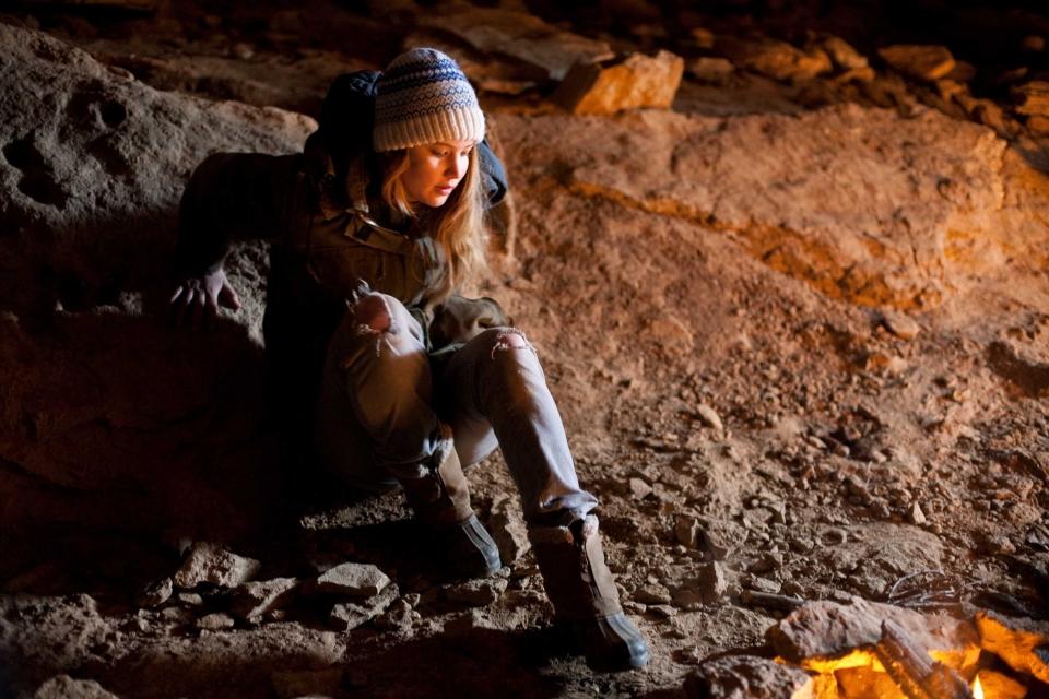кадры из фильма Зимняя кость Дженнифер Лоуренс,