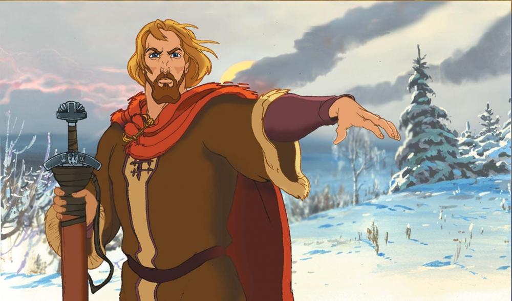кадры из фильма Князь Владимир