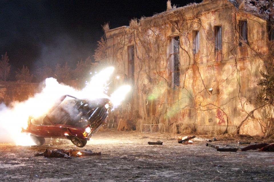 кадры из фильма Сумасшедшая езда 3D