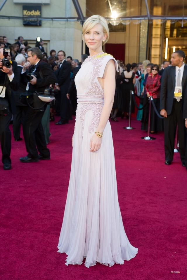 звездная дорожка Оскар 2011 Кейт Бланшетт,