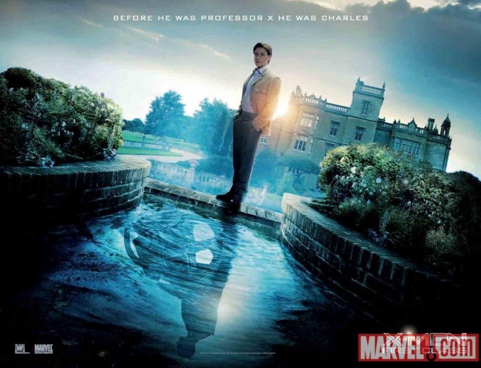 плакат фильма биллборды Люди Икс: Первый класс